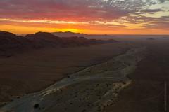 Namibia Sunset Dry Riverbed DJI Mavic Pro 2 (www.mikereidphotography.com) Tags: drone namibia sunset africa explore landscape mavic dji aerial desert namib