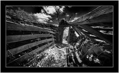 Abandoned, Puntagorda. Isle of La Palma (Bartonio) Tags: bw blanconegro canaryislands infrared ir islascanarias lapalma laowa1018mm45 modified puntagorda sonya7ir laowa