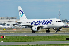 S5-AAX Adria Airways Airbus A319-100 (czerwonyr) Tags: s5aax adria airways airbus a319100