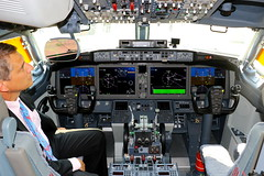 Learning to fly...Boeing Company 737MAX-9 N7379E (Manuel Negrerie) Tags: boeing company 737max9 n7379e cockpit mcas pfd screens digital computer avionics systems aviation technology jetliner 737max max9 max8 piloting design canon sight architecture