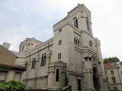 Église de l'Immaculée Conception, Lyon, France (Paul McClure DC) Tags: lyon france july2017 auvergnerhônealpes lapartdieu church historic architecture