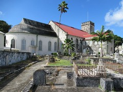 St. Michael's Anglican Cathedral (D-Stanley) Tags: graveyard cathedral bridgetown barbados caribbean