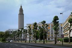 St. Joseph's Cathedral, 20th century. Le Havre, France (varfolomeev) Tags: 2017 франция город церковь france city church fujifilmxt10