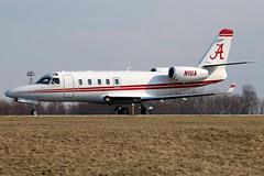 N1UA IAI Gulfstream 150 at KCLE (GeorgeM757) Tags: n1ua iaigulfstream150 businessjet kcle bizjet clevelandhopkins georgem757 aircraft aviation airplane airport canon70d