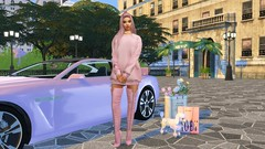 Jia (***Mila Smith***) Tags: ts4 sims4 thesims4 girls fashion style heels pink