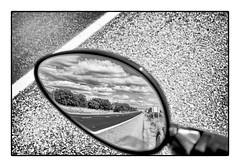 DSCF3681 (julujan) Tags: natura streetphoto bnwmagazine viaje bnw blancoynegro blackandwhite streetphotography bw monochrome reflejo carretera arboles nubes cloud retrovisor asfalto ruta campo country asphalt outdoor road rural ruralscene tree field