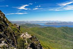 20190113-17-Side of Mt Wedge and Lake Pedder (Roger T Wong) Tags: 2019 australia mtwedge rogertwong sel24105g sony24105 sonya7iii sonyalpha7iii sonyfe24105mmf4goss sonyilce7m3 tasmania bushwalk hike outdoors southwest tramp trek walk