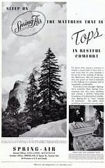 Spring-Air-Matress-Company-AD (Count_Strad) Tags: advertisement advertising advertise print car travel