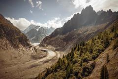 Rhône-Alpes (©Andrey) Tags: vacation autumn rhône alpes mountains landscape nice view nature warm day sky clouds a7rii sel2470z france trip walk mer de glace chamonix explore explored