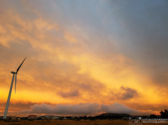 Evening Sky (LocalOzarkian Photography - Ozarks/ Route 66 Photo) Tags: tucumcarinewmexico newmexico newmexicoroute66 route66 motherroad tucumcari sky eveningsky sunset tucumcarimountain