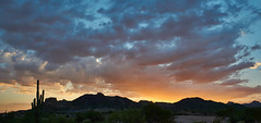 DSC00595_stitch2 (wNG555) Tags: 2014 arizona phoenix apachejunction apachetrail superstitionmountain sunset a6000 ilce6000 fav25 fav50