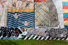 Gruenspan III (Rasande Tyskar) Tags: 60s popart pop art gruenspan club music musik facade wand wandmalerei mural 1969 streetart hamburg stpauli retro
