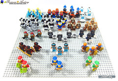 General statistics for 71024 LEGO Disney Series 2 (WhiteFang (Eurobricks)) Tags: lego minifigures cmfs collectable walt disney mickey characters licensed design personality animated animation movies blockbuster cartoon fiction story fairytale series magic magical theme park medieval stories soundtrack vault franchise review ancient god mythical town city costume space
