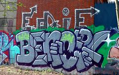 Graffiti  in Amsterdam (wojofoto) Tags: amsterdam nederland holland netherland graffiti streetart wojofoto wolfgangjosten benoit benoi