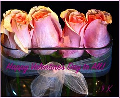 Four Roses for Valentine's to All!! ... (Irene, W. Van. BC) Tags: fourrosesforvalentinesdaytoall valentinesday fourroses pinkroses allflowers allroses beautifulpetals beautifulflowers beautifulnature wonderfulnature celebrations roses rose rosebouquet beautifulblossoms plants gardenflowers valentine valentinerose happyvalentinesday 1001nights 1001nightsmagiccity 1001nightsmagicgarden