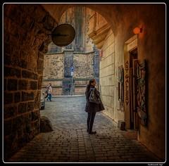 Praha - Prague_Týnská ulička_Praha 1 - Staré Město_Czechia (ferdahejl) Tags: praha prague týnskáulička praha1staréměsto czechia canondslr dslr