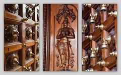 Doors at Hindu Temple, Singapore. (Manoo Mistry) Tags: singapore temple hindutemple hindu hinduism malaysia nikon nikond5500 tamron tamron18270mmzoomlens doors collage