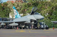 Eurofighter Typhoon (Boushh_TFA) Tags: eurofighter typhoon 3640 mm 7322 poznan air show 2018 poznan–lawica henryk wieniawski airport poland poz eppo nikon d600 nikkor 300mm f28 vrii italian force aeronautica militare