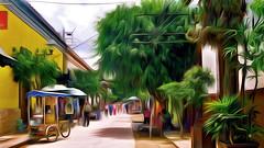 Tlaquepaque Street Scene
