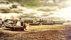 Recuerdos de Cabo Polonio (Miradortigre) Tags: uruguay uruguai pescadores fisherman boats botes barcas playa cabo polonio cape