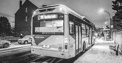 Bus B&W - 6573 (ΨᗩSᗰIᘉᗴ HᗴᘉS +42 000 000 thx) Tags: rx10 sony sonyrx10m4 blackandwhite noiretblanc bw bn nb monochrome belgium europa aaa namuroise look photo friends be wow yasminehens interest eu fr greatphotographers lanamuroise flickering