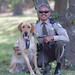 Officer Jeff Babauta with K9
