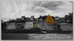 [0392] Castillo-Cementerio de Riopar Viejo. (Cut Out) (Pepe Balsas) Tags: castillo rioparviejo cementerio