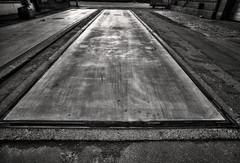 Base (Svendborgphoto) Tags: monochrome manualfocus metal industrie machinery nikkor nikon nikkorais 2028 20mm aisnikkor d800 dof detail decay bw blackandwhite
