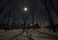 Full Moon (Matt Champlin) Tags: moon supermoon february night astronomy canon beautiful spiral life nature outdoors sky skies shadows landscape home skaneateles flx pond frogpond 2019