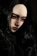 dark portrait (dolls of milena) Tags: bjd abjd resin doll elfdoll emma portrait dark