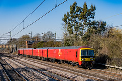 325007 Royal Mail Cathiron Rugby 27.02.19 (Paul David Smith (Widnes Road)) Tags: 325007 royal mail cathiron rugby 270219 emu 325 class325