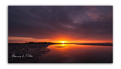 Sunrise on the Enler River (RonnieLMills 6 Million Views. Thank You All :)) Tags: sunrise dawn early morning colours reflections enler river strangford lough low tide mud islandhill comber newtownards county down northern ireland theenlercurve ronnielmills landscape photography
