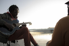 Guitare (revoli photo) Tags: lyon slack slackline bateau soane rhone parc song city sun bird