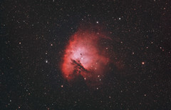 The Pacman Nebula (AstroBackyard) Tags: asi294mc pro camera telescope 100 ed skywatcher esprit apochromatic refractor deep sky astrophotography astronomy oneshotcolor filter narrowband pacman nebula ngc 281