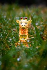 Giraffe in the grass (Ballou34) Tags: 2019 7dmark2 7dmarkii 7d2 7dii afol ballou34 canon canon7dmarkii canon7dii eos eos7dmarkii eos7d2 eos7dii flickr lego legographer legography minifigures photography stuckinplastic toy toyphotography toys stuck in plastic giraffe grass