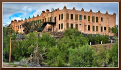 Ajo_6290 (bjarne.winkler) Tags: photo foto safari 20181 day 10 view phelps dodge hospital now copper canyon paranormal center ajo az 100 miles west tucson