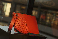 DSC09271 (oliveplum) Tags: marinabaysands bag leicarsummicron50mmf2 sony singapore bokeh shoppingmall display