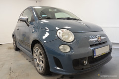 Fiat 500 (wyglancowane) Tags: fiat 500 fiat500 wyglancowane detailing autodetailing katowice kato polerowanie lakieru korekty powłoki ochronne ceramiccoating gyeon syncro gyeonsyncro