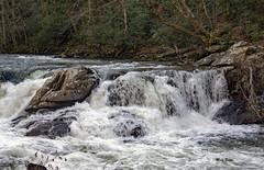 Wayah Road (mevans4272) Tags: waterfall cascades rock trees roots nantahala carolina north