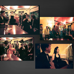 At Abalone Bar, Dunedin, NZ. Early 1990's (jasoux) Tags: dunedin nz newzealand candid university otagouniversity universityofotago otago abelonebar naturallight noflash slr ricohxr2 student students lawball ball bar nightclub
