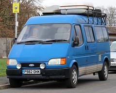 P982 OHK (Nivek.Old.Gold) Tags: 1997 ford transit 190 lwb 2496cc diesel