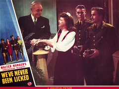 """Promotional materials for """"We've Never Been LIcked"""" 06.jpg (buddymedbery) Tags: years unitedstates worldwarii collegestation 1943 1940s texas"""
