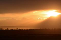 DSC_3126_gimp (STE) Tags: tramonto sunset cielo sky nuvole clouds