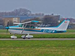 EI-OFM Cessna 172 Skyhawk (SteveDHall) Tags: aircraft airport aviation airfield aerodrome aeroplane airplane blackpool blackpoolairport bpl blk egnh 2019 generalaviation ga cessna skyhawk c172skyhawk cessna172skyhawk c172 cessna172 eiofm