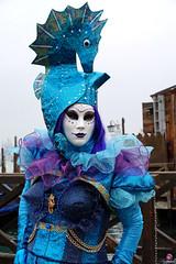 QUINTESSENZA VENEZIANA 2019 455 (aittouarsalain) Tags: hippocampe venise venezia carnevale carnaval masque costume chapeau