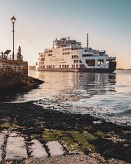 Portsmouth   |   Wightlink (JB_1984) Tags: wightlink isleofwightferry ferry boat reflection goldenhour thepoint pompey portsmouthharbour portsmouth hampshire england uk unitedkingdom nikon d500 nikond500