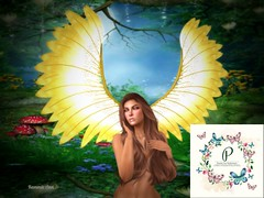 Goddess (*kAmmieAnn*) Tags: darkintentions stealthic michaeljfoxfoundation oasisevent charity exclusive goddess wings spring
