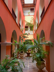 The courtyard in our AirBnB (H. Michael Miley) Tags: courtyard puertorico vacation