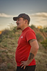 4-wheeling with some friends (Sterling Williams Jr.) Tags: pentax sigma sony a6000 offroad portrait candid 4x4 arizona outdoor nature apsc 50mm 16mm vintage toyota camo desert photography evening sky retro