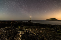 The Colours of The Night (Mike A Mckenna) Tags: milkyway astro astrophotography witns milkywaychasers nightsky nightphotography anglesey wales beautiful explore likeit loveit epic colours lighthouse nikond7500 tokina manfrotto manchester